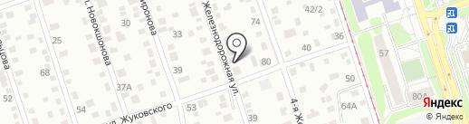 КурсАэро на карте Иркутска