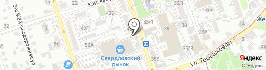 Buffeto на карте Иркутска
