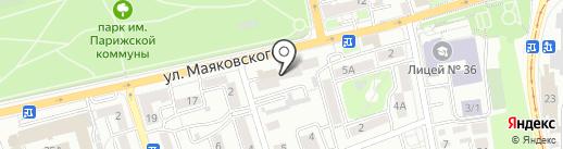 СантехДомСтрой на карте Иркутска