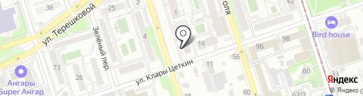 РесурсИнвестСтрой на карте Иркутска