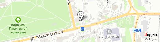 Белореченское, ПАО на карте Иркутска