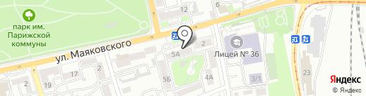 Пивной дворик на карте Иркутска