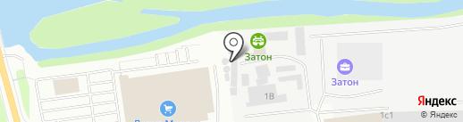 Пекарефф на карте Иркутска