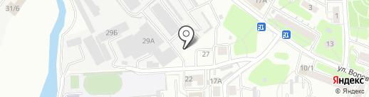 ФаворитЪ на карте Иркутска