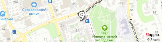 Стройрост на карте Иркутска