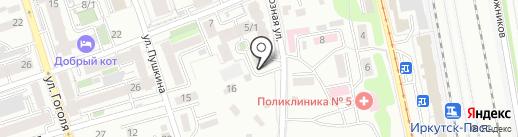 ТеплЭко на карте Иркутска