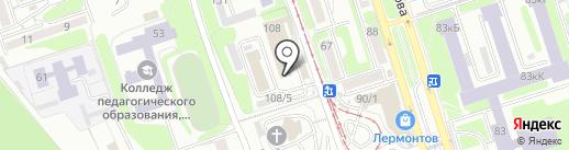 Shopas на карте Иркутска