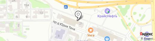 TBS на карте Иркутска