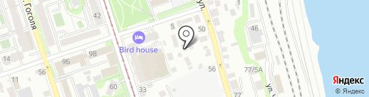 Автосоюз на карте Иркутска