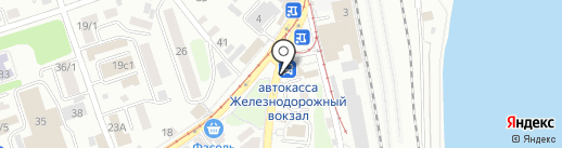 Основной инстинкт на карте Иркутска
