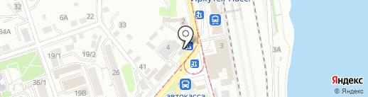 МегаФон на карте Иркутска