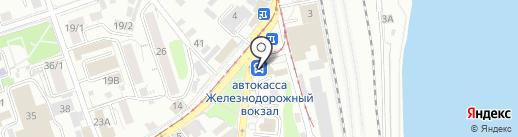 Автокасса на карте Иркутска