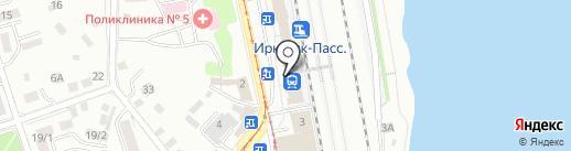 Галерея 3Д картин на карте Иркутска