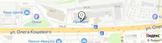 АльянсСибМет на карте Иркутска