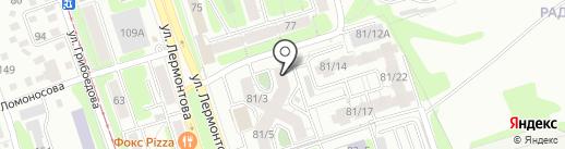 Иркутский садовод на карте Иркутска