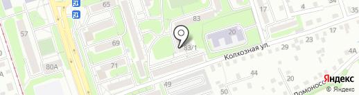 Амбар на карте Иркутска
