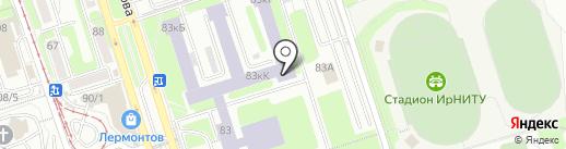 Че на карте Иркутска