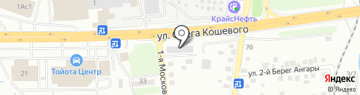 Амарант-РТИ на карте Иркутска