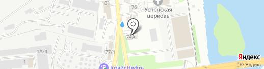 Import auto на карте Иркутска