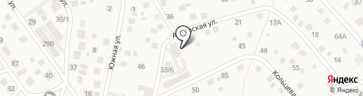 Хрустальный на карте Марковой