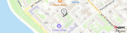 Дмитровка на карте Иркутска