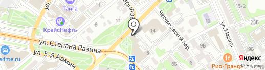 СВОЙ ОБРАЗ на карте Иркутска