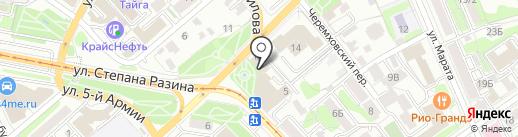 Байкал Компьютерс на карте Иркутска