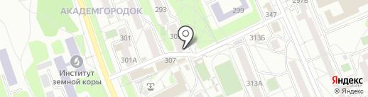 Печати 5 Иркутск на карте Иркутска