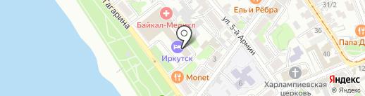 Два Стилиста на карте Иркутска
