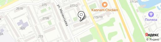 Сигма на карте Иркутска