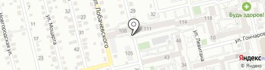Радужный на карте Иркутска