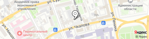 Адвокатский кабинет Печкин А.А. на карте Иркутска