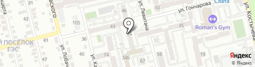 ДеТвоРа на карте Иркутска