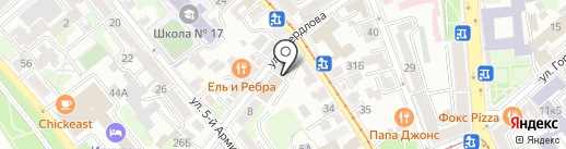 Всероссийское общество слепых на карте Иркутска