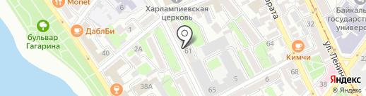 ВостСибЭкспертиза на карте Иркутска