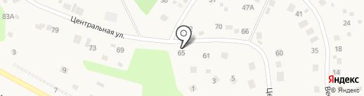 Радуга на карте Марковой