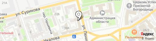 Диип 2000 на карте Иркутска