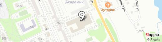 Вэнди на карте Иркутска