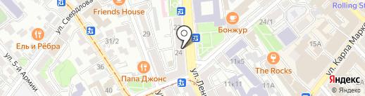 NIRVANA на карте Иркутска