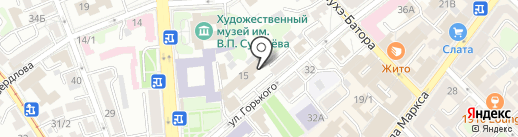 Россия 1 на карте Иркутска
