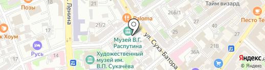 ГеоСтрой на карте Иркутска