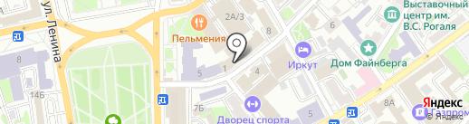 Стройлогистика на карте Иркутска
