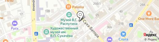 EsliTesno на карте Иркутска