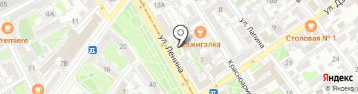 Урюк на карте Иркутска