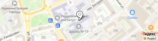Центр по ремонту компьютеров на карте Иркутска