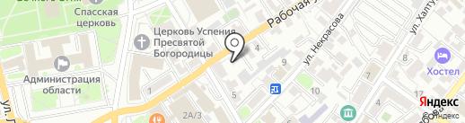 РАНН на карте Иркутска