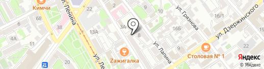 Ворк5 на карте Иркутска