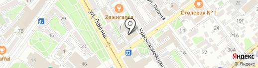 Ультрафлай сервис на карте Иркутска