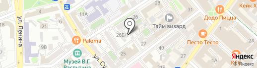 Kids Club на карте Иркутска