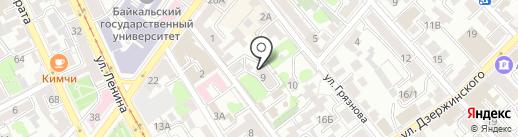 Авторский салон перманентного макияжа на карте Иркутска